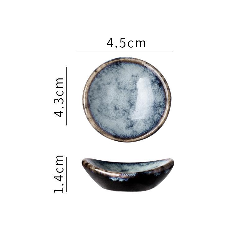 1x-Chopsticks-Holder-Stand-Ceramic-Glaze-Spoon-Fork-Rest-Tableware-Reusable thumbnail 8