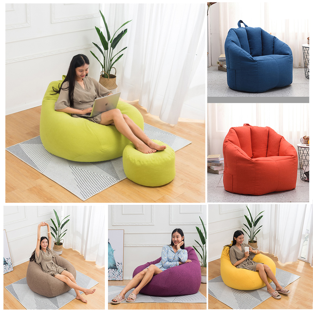 us bean bag couch chair sofa cover