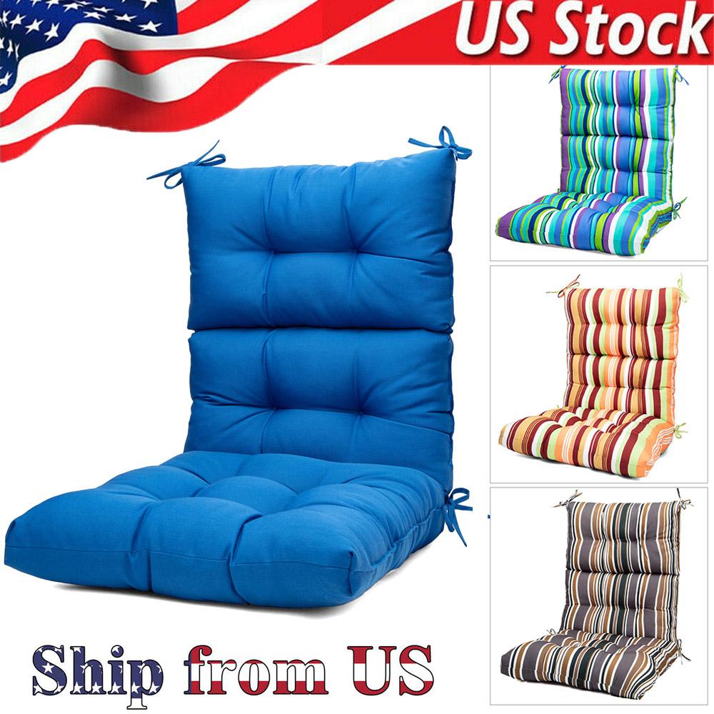 Rocking Soft Chair Seat Cushion-High Back Solid Chair Cushio