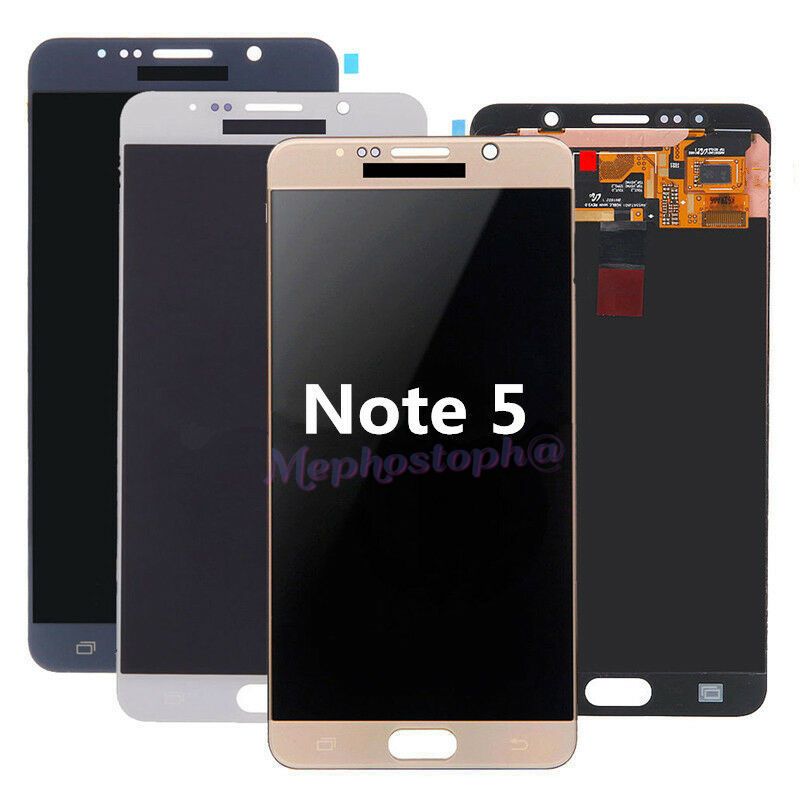 White Pearl Lcd Touch Screen Glass Display Assembly For Samsung Galaxy Note 5 For Sale Online Ebay