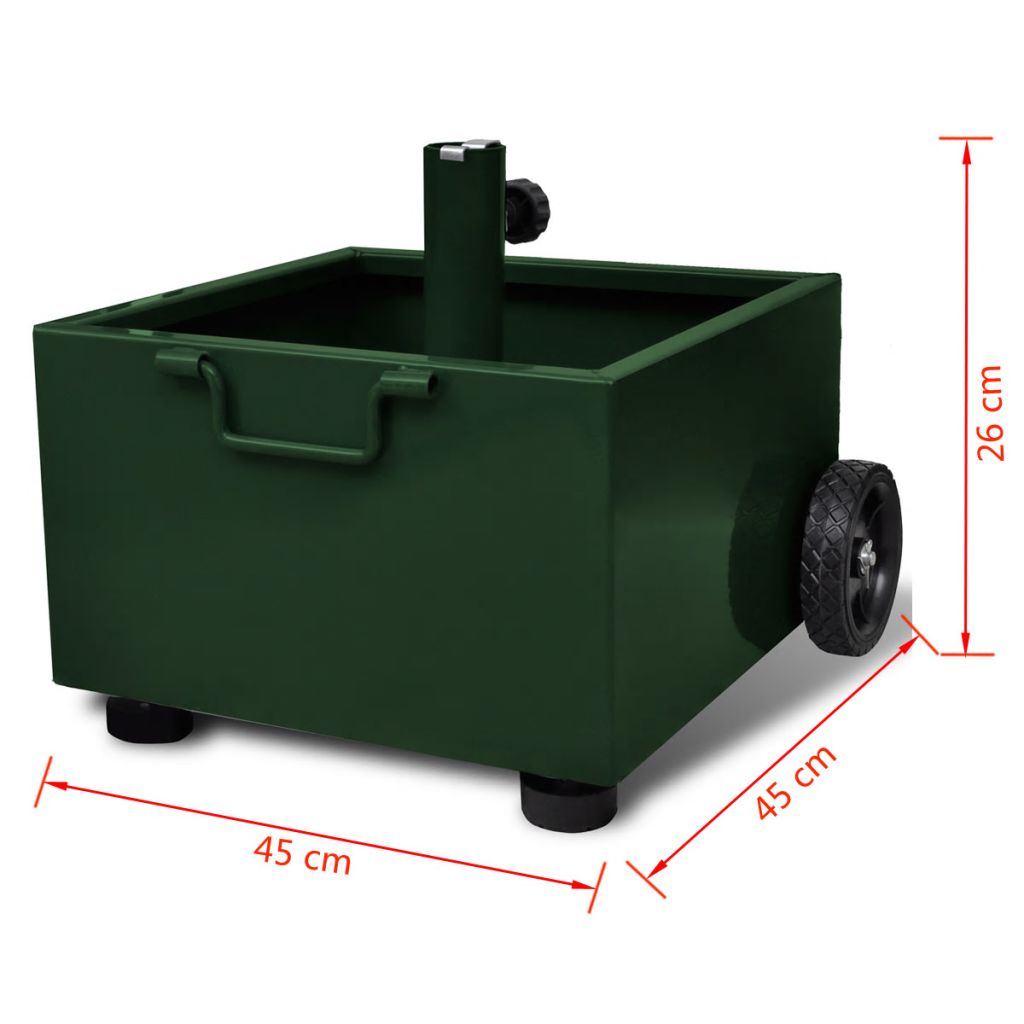 vidaXL Gazebo Cover Canopy Replacement 9.14 oz//yd² Green 10/'x13/' UV30 Patio Gard