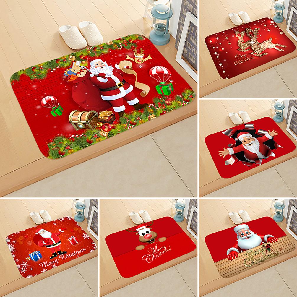 Christmas Door Floor Mats Carpet