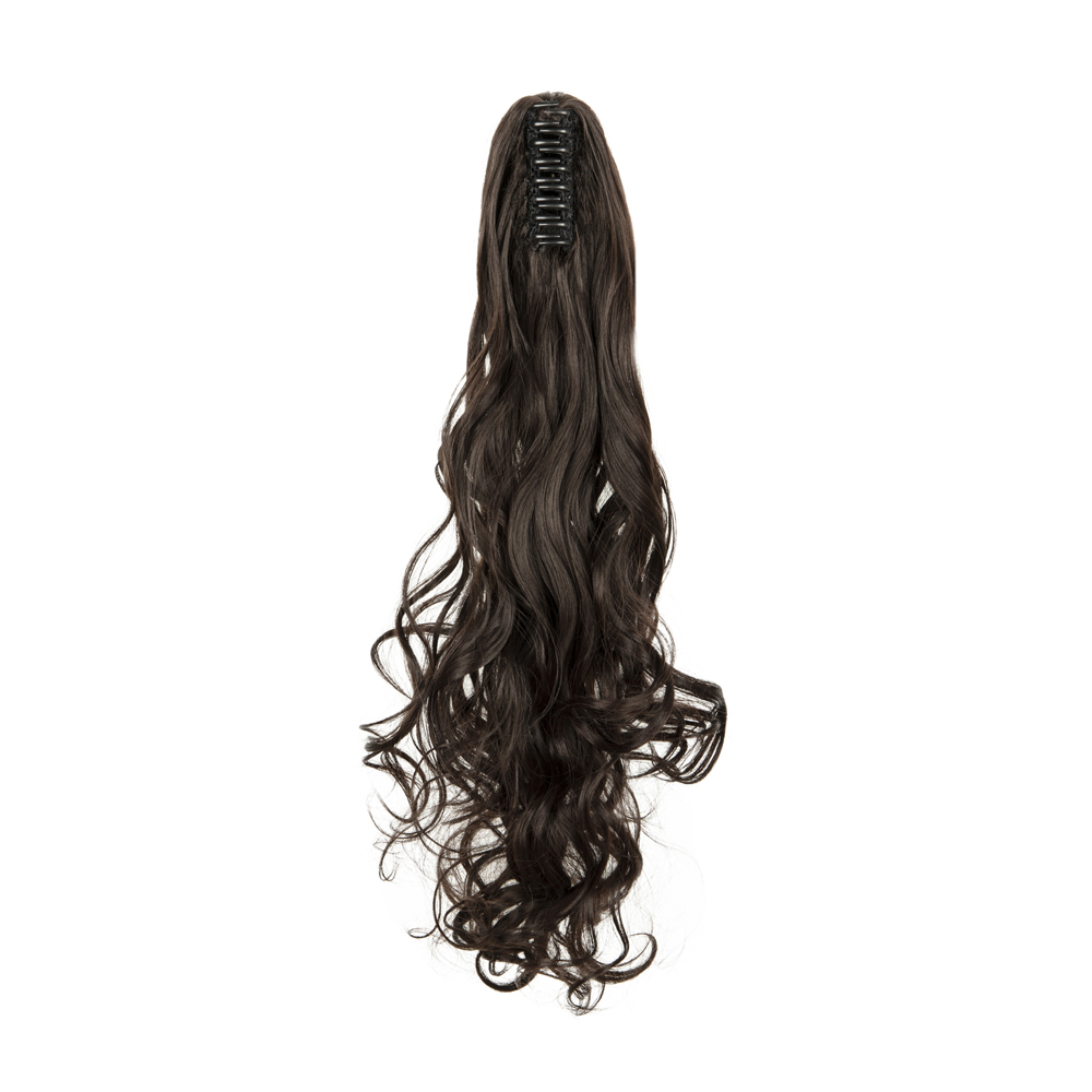 Synthetic-Claw-Clip-Ponytail-Extension-Long-Wavy-Pony-Tail-Hair-Piece-For-Ladies thumbnail 14