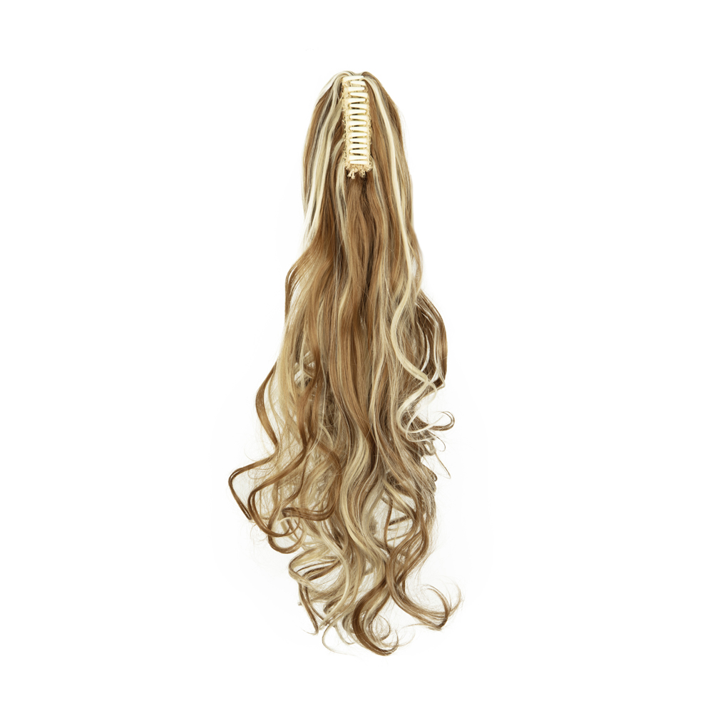 Synthetic-Claw-Clip-Ponytail-Extension-Long-Wavy-Pony-Tail-Hair-Piece-For-Ladies thumbnail 16