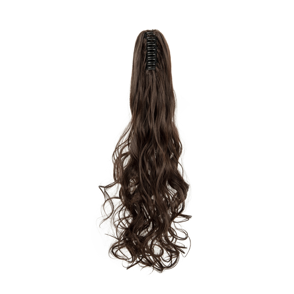Synthetic-Claw-Clip-Ponytail-Extension-Long-Wavy-Pony-Tail-Hair-Piece-For-Ladies thumbnail 20