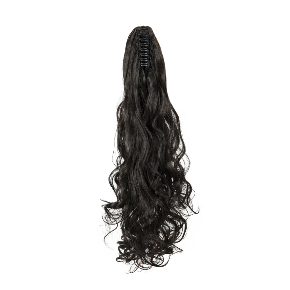 Synthetic-Claw-Clip-Ponytail-Extension-Long-Wavy-Pony-Tail-Hair-Piece-For-Ladies thumbnail 22