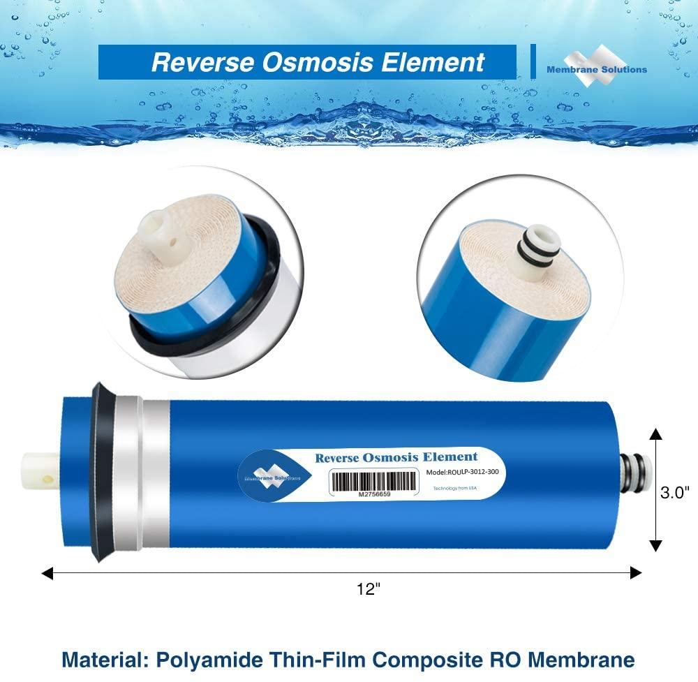 RO Reverse Osmosis Filter Membrane Housing 24//36//50//75//100//150//200//300//400GPD