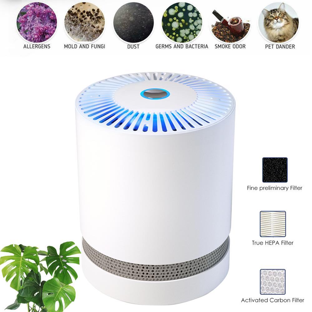 1Pack Air Purifier True HEPA Filter for Dust Pollen Pet Odor