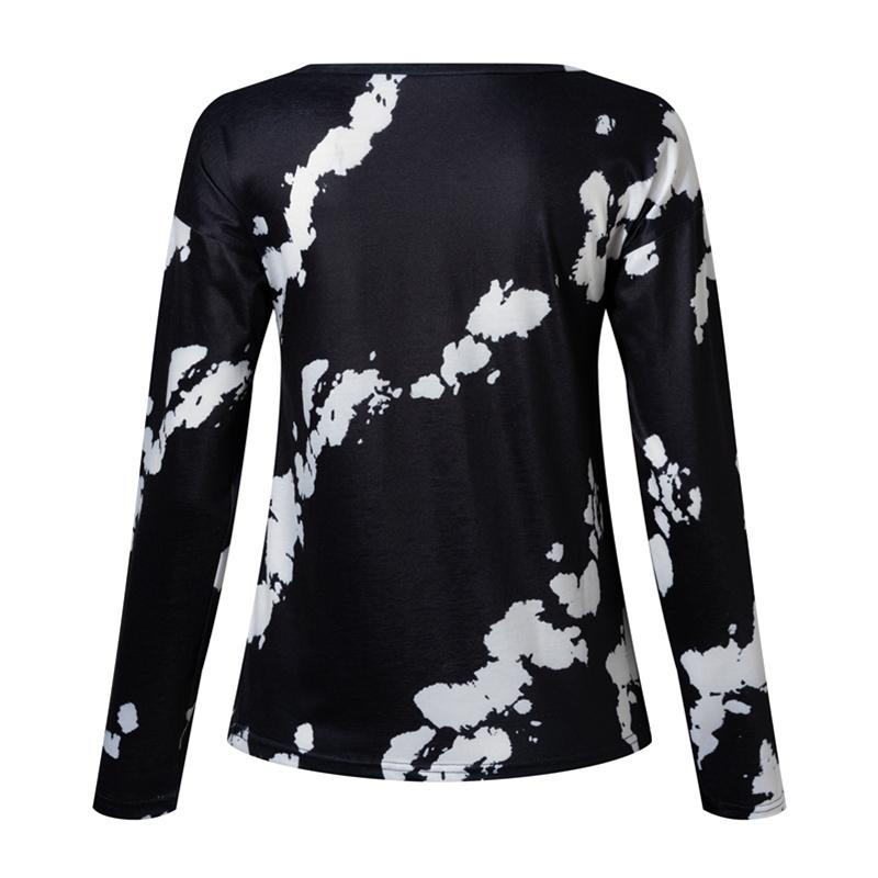 Women-039-s-Tie-Dye-Long-Sleeve-Pullover-Ladies-Loose-Casual-Sweatshirt-Tops-Jumper thumbnail 23