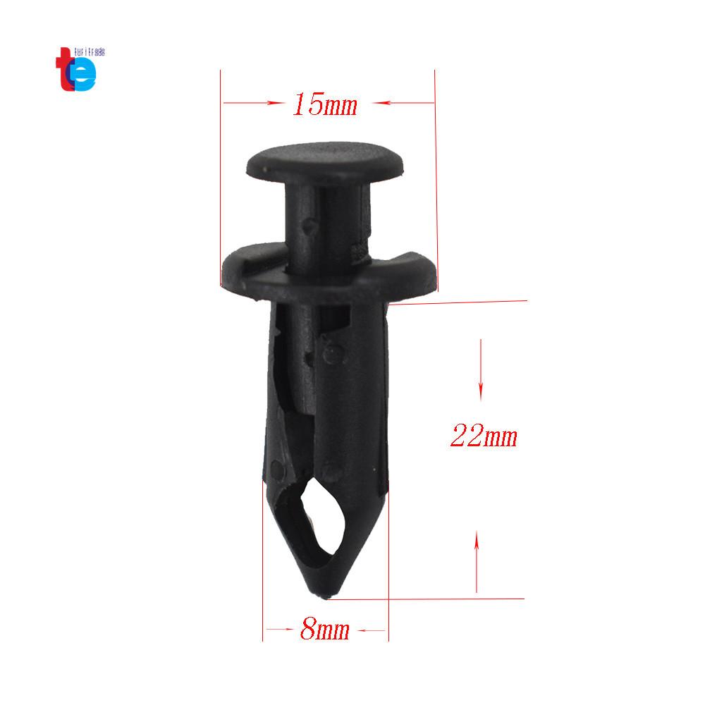 Atv Retainer Clips 8mm Push Pin Splash Guard Body Panel