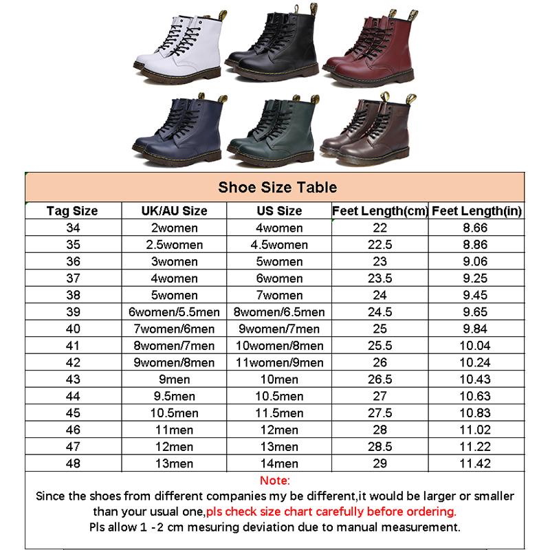 thumbnail 17 - Womens Platform Biker Boots Comfy Black Leather Punk Goth Thick Sole Ankle Shoes