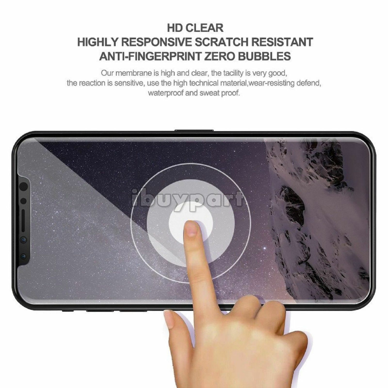 3-Pack-For-iPhone-11-Pro-11-Pro-Max-X-Xs-Max-XR-Tempered-Glass-Screen-Protector thumbnail 11