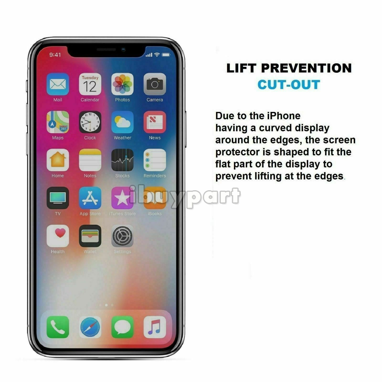 3-Pack-For-iPhone-11-Pro-11-Pro-Max-X-Xs-Max-XR-Tempered-Glass-Screen-Protector thumbnail 38