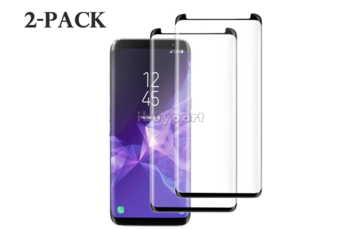 Tempered-Glass-for-Samsung-Galaxy-S9-S8-Plus-Note-8-9-S8-Screen-Protector-2-pack thumbnail 16