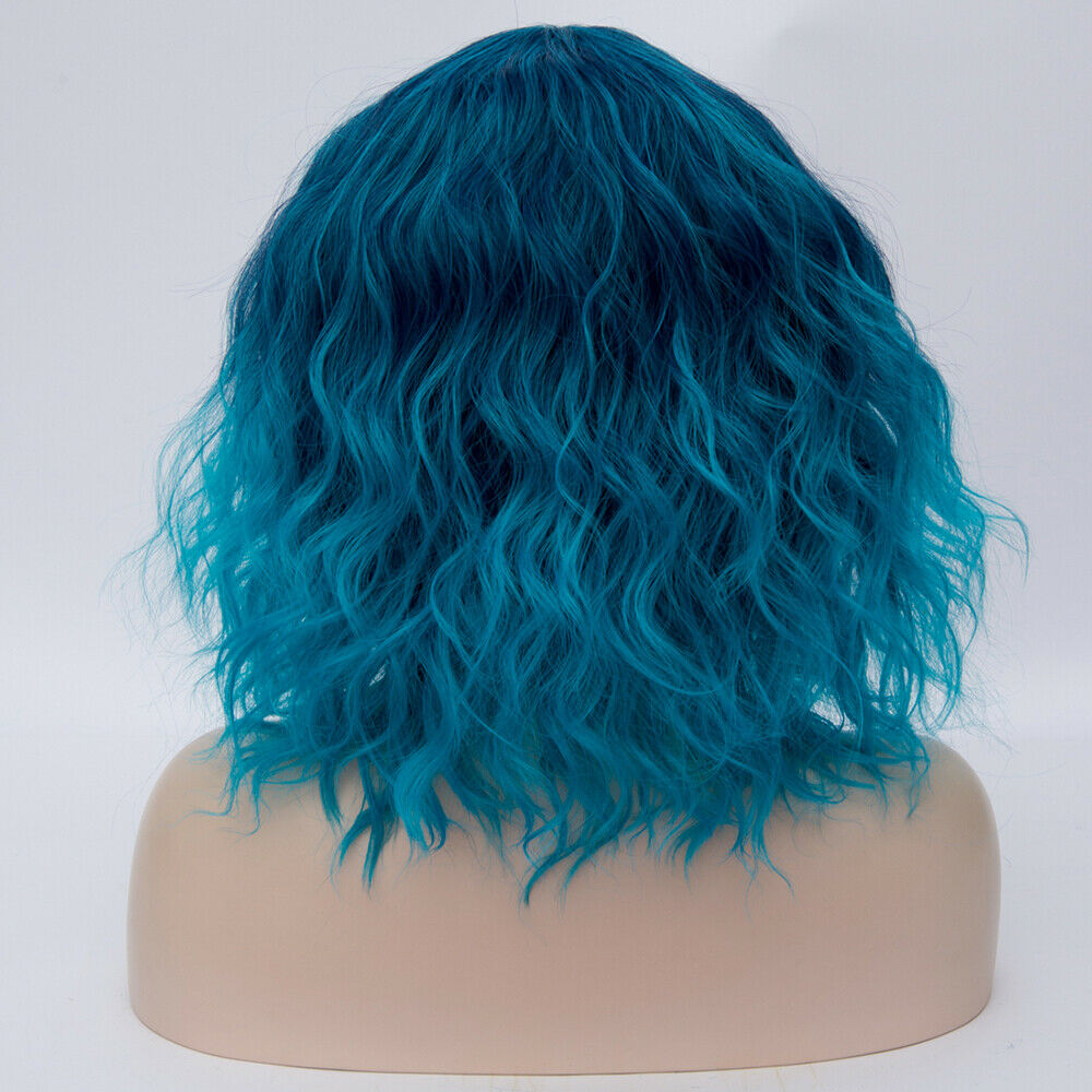 Lolita-Heat-Resistant-Wig-Anime-Short-Curly-Wavy-Synthetic-Hair-Cosplay-Party-US miniature 18