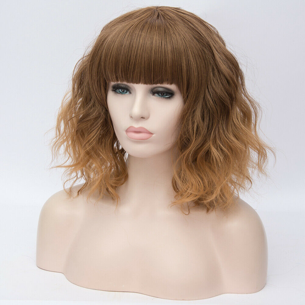 Lolita-Heat-Resistant-Wig-Anime-Short-Curly-Wavy-Synthetic-Hair-Cosplay-Party-US miniature 23