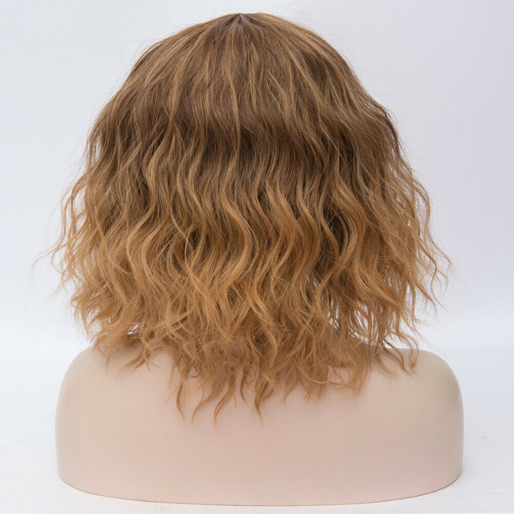 Lolita-Heat-Resistant-Wig-Anime-Short-Curly-Wavy-Synthetic-Hair-Cosplay-Party-US miniature 24