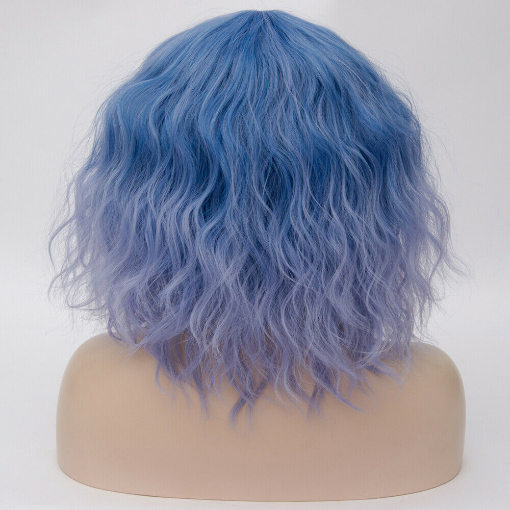 Lolita-Heat-Resistant-Wig-Anime-Short-Curly-Wavy-Synthetic-Hair-Cosplay-Party-US miniature 27