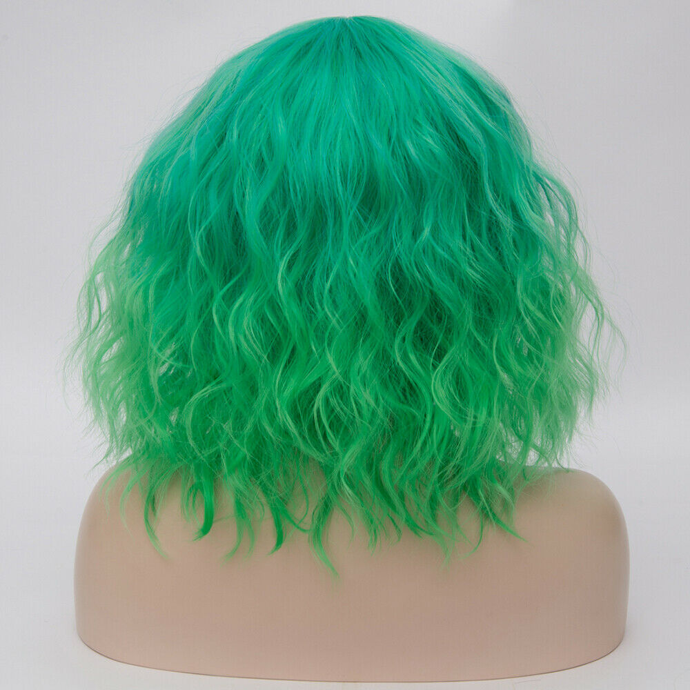 Lolita-Heat-Resistant-Wig-Anime-Short-Curly-Wavy-Synthetic-Hair-Cosplay-Party-US miniature 30