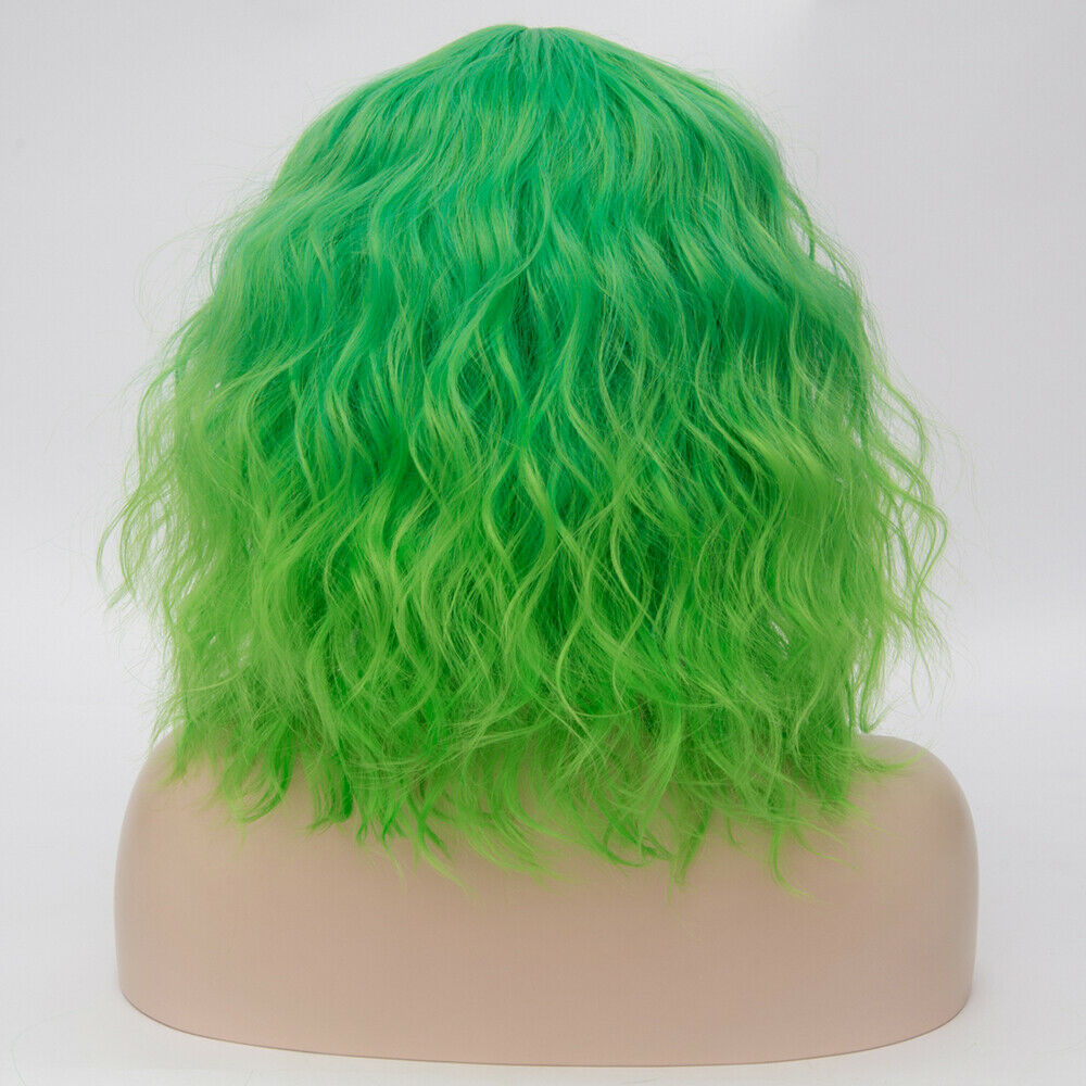 Lolita-Heat-Resistant-Wig-Anime-Short-Curly-Wavy-Synthetic-Hair-Cosplay-Party-US miniature 39