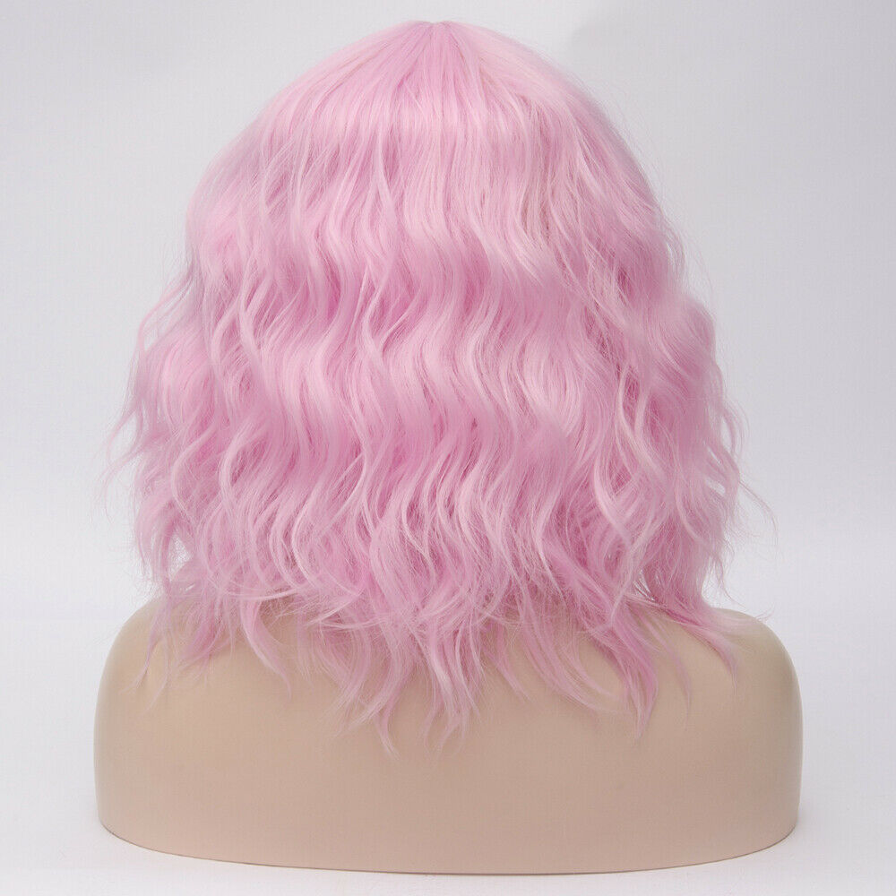 Lolita-Heat-Resistant-Wig-Anime-Short-Curly-Wavy-Synthetic-Hair-Cosplay-Party-US miniature 42