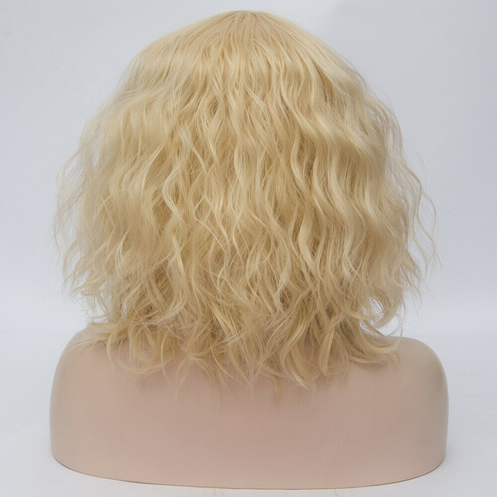 Lolita-Heat-Resistant-Wig-Anime-Short-Curly-Wavy-Synthetic-Hair-Cosplay-Party-US miniature 45