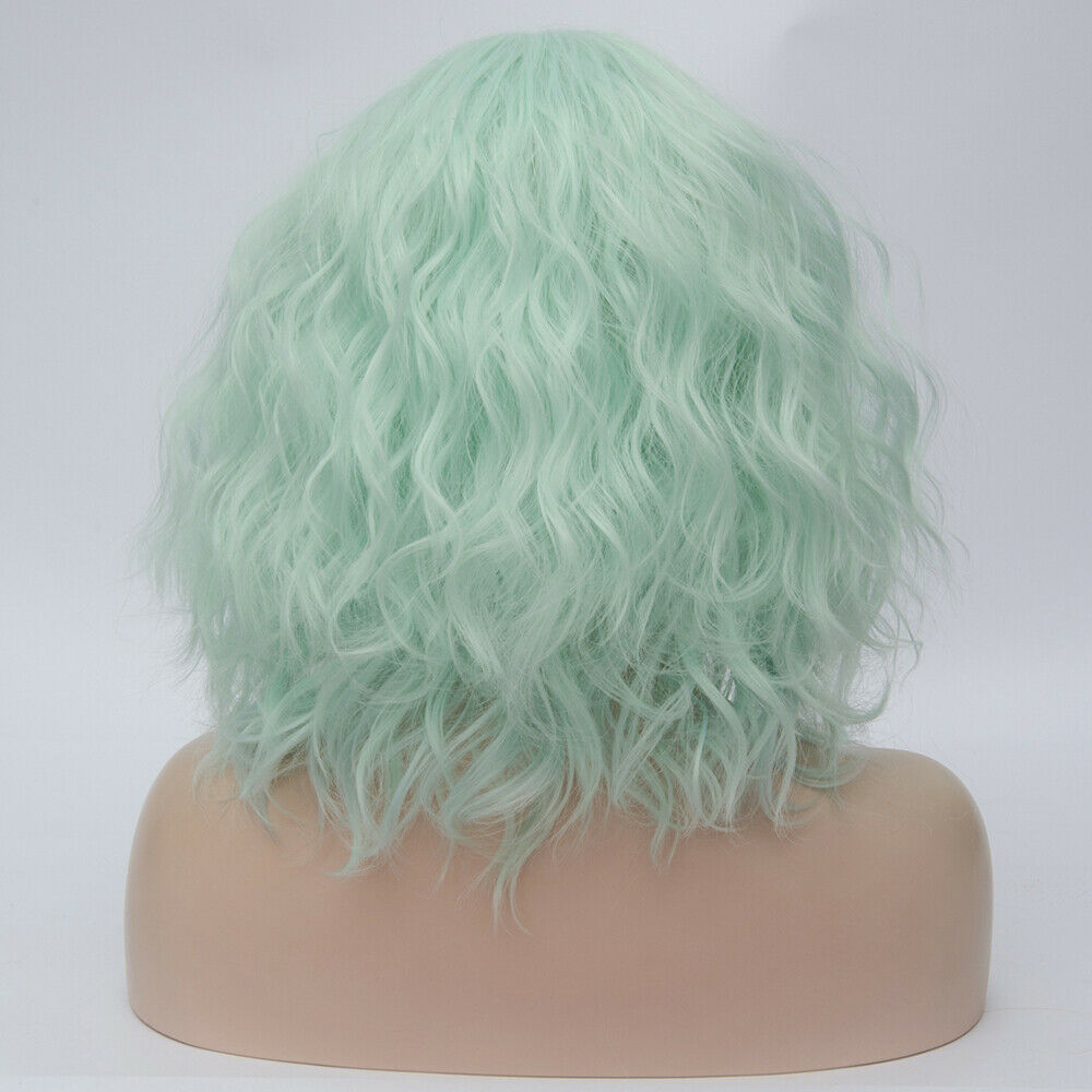 Lolita-Heat-Resistant-Wig-Anime-Short-Curly-Wavy-Synthetic-Hair-Cosplay-Party-US miniature 48