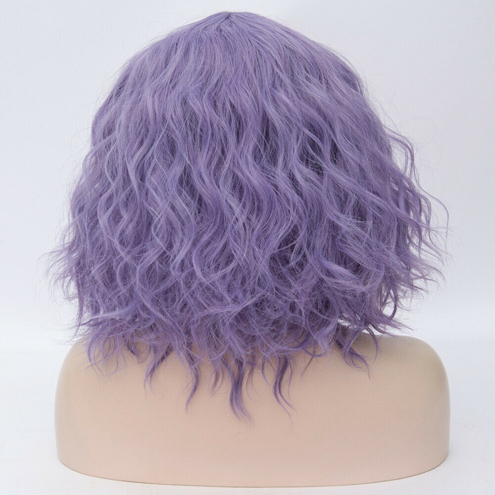 Lolita-Heat-Resistant-Wig-Anime-Short-Curly-Wavy-Synthetic-Hair-Cosplay-Party-US miniature 54