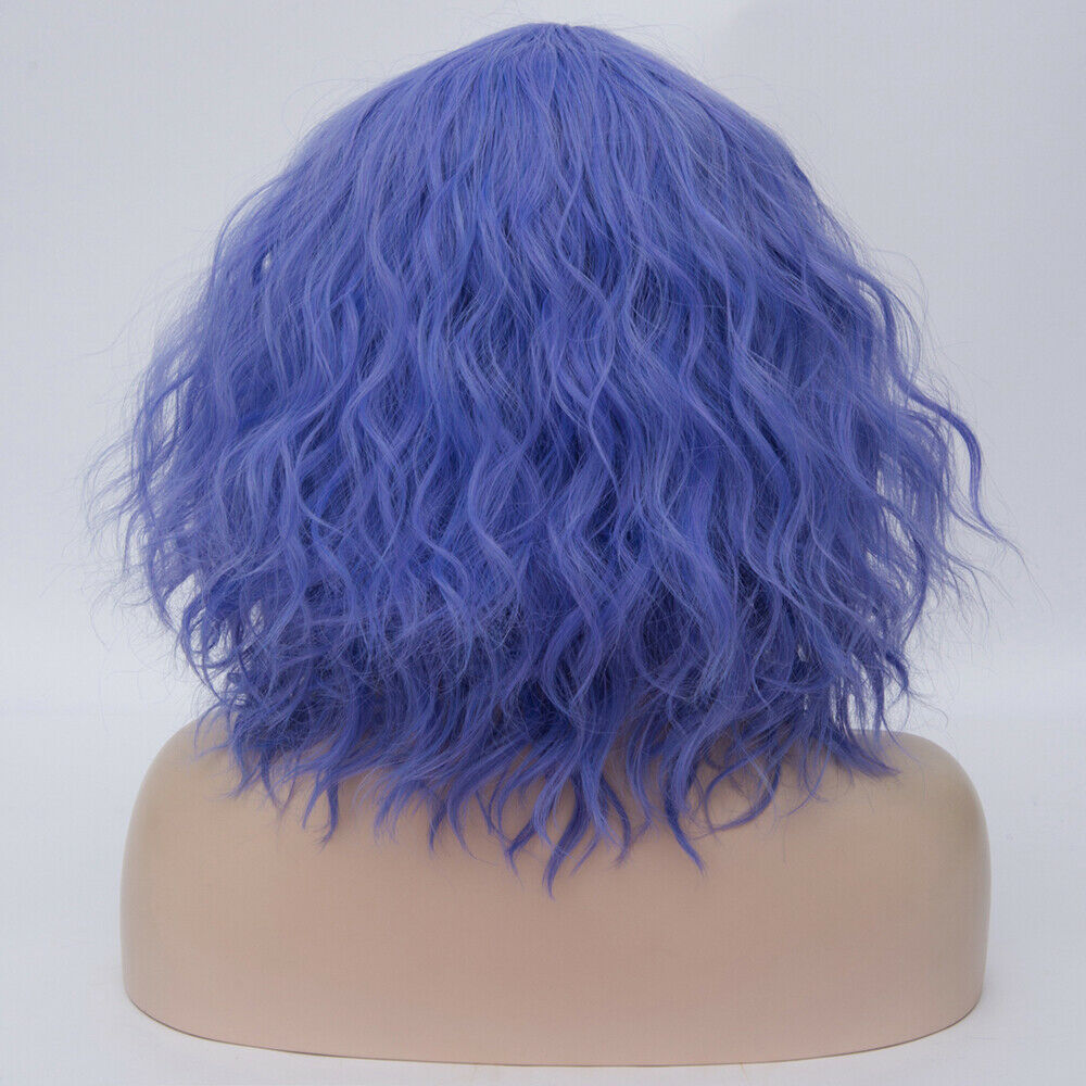 Lolita-Heat-Resistant-Wig-Anime-Short-Curly-Wavy-Synthetic-Hair-Cosplay-Party-US miniature 60
