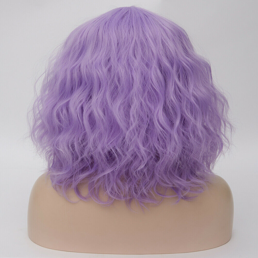 Lolita-Heat-Resistant-Wig-Anime-Short-Curly-Wavy-Synthetic-Hair-Cosplay-Party-US miniature 63