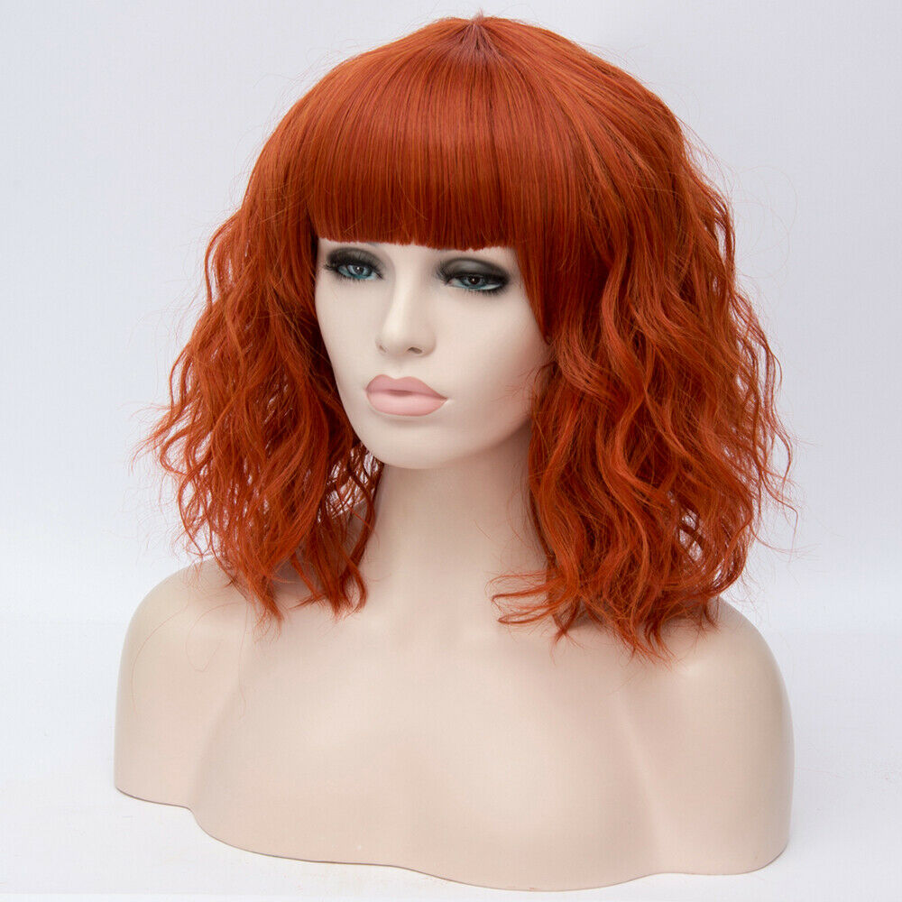 Lolita-Heat-Resistant-Wig-Anime-Short-Curly-Wavy-Synthetic-Hair-Cosplay-Party-US miniature 65
