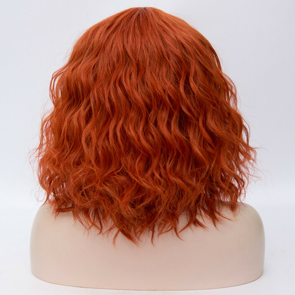 Lolita-Heat-Resistant-Wig-Anime-Short-Curly-Wavy-Synthetic-Hair-Cosplay-Party-US miniature 66