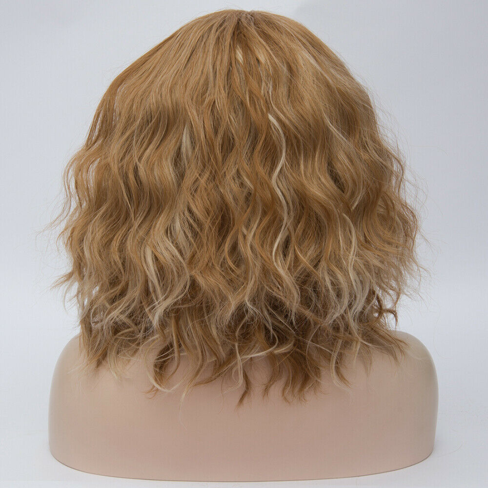 Lolita-Heat-Resistant-Wig-Anime-Short-Curly-Wavy-Synthetic-Hair-Cosplay-Party-US miniature 72