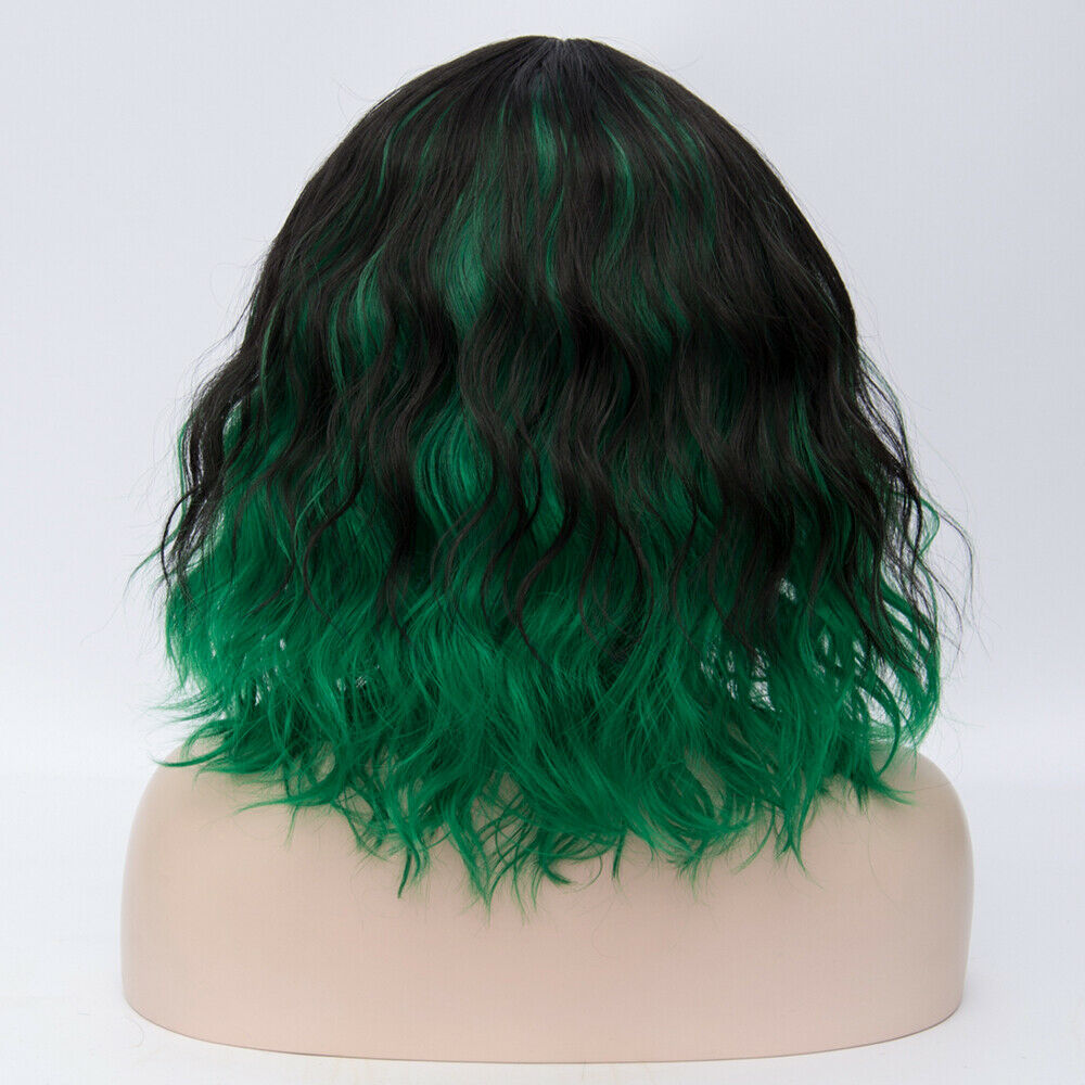 Lolita-Heat-Resistant-Wig-Anime-Short-Curly-Wavy-Synthetic-Hair-Cosplay-Party-US miniature 74