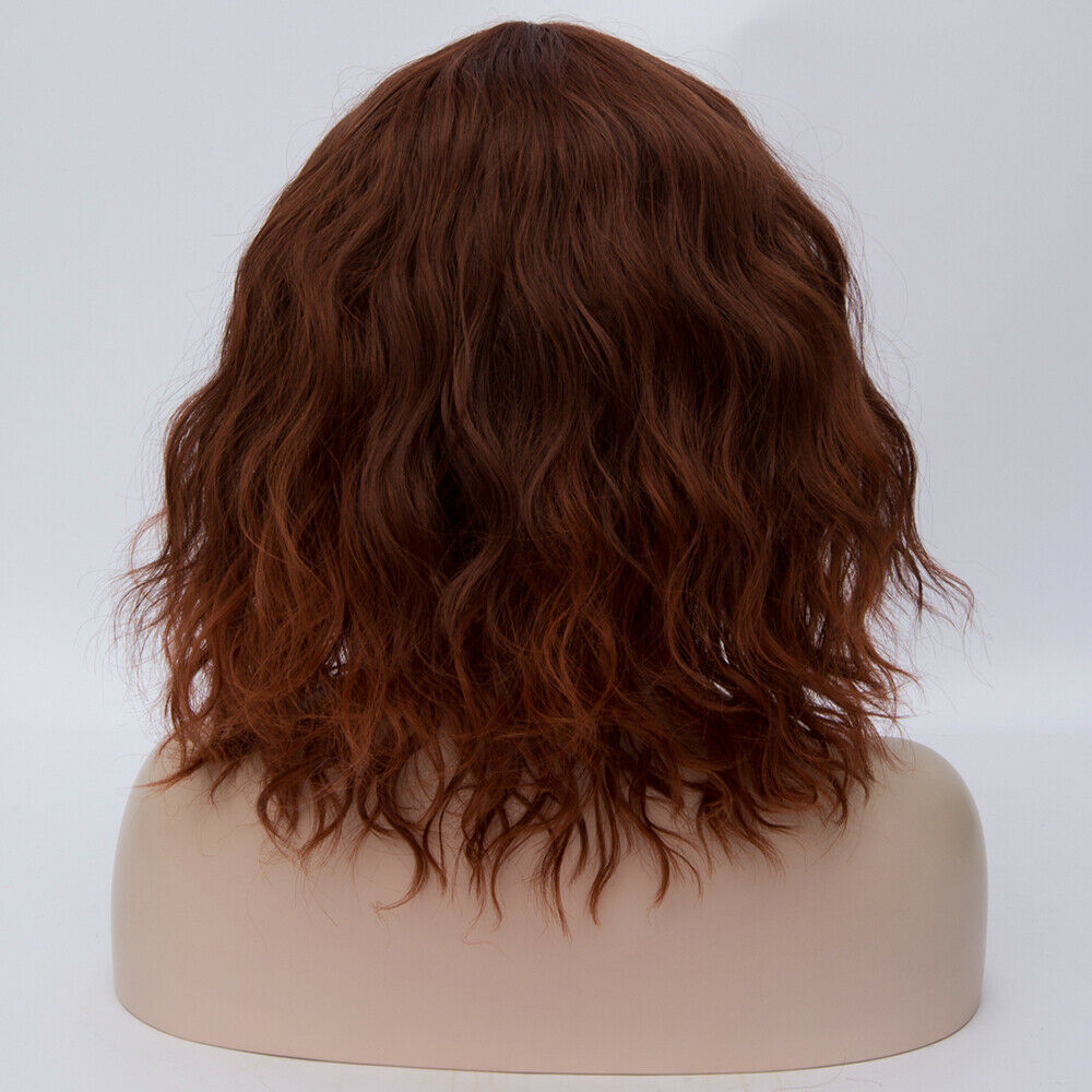 Lolita-Heat-Resistant-Wig-Anime-Short-Curly-Wavy-Synthetic-Hair-Cosplay-Party-US miniature 77
