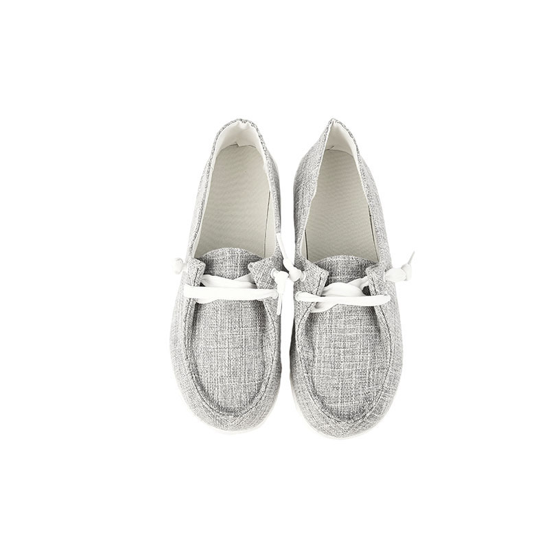 thumbnail 28 - USA Women Pumps Slip On Flat Loafers Trainers Jogging Sneakers Casual Boat Shoes
