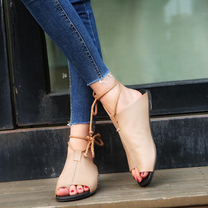 thumbnail 20 - Womens Fashion Flat Sandals Slippers Summer Beach Shoes Ankle Strap Flip Flops