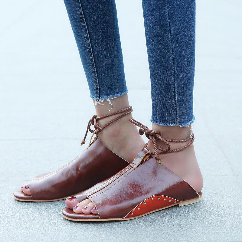 thumbnail 25 - Womens Fashion Flat Sandals Slippers Summer Beach Shoes Ankle Strap Flip Flops