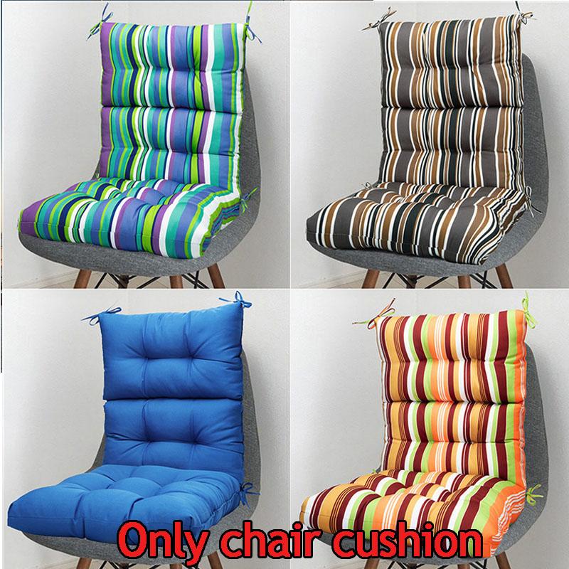 High Back Seat Cushion Outdoor Chair Cushion High Rebound Te