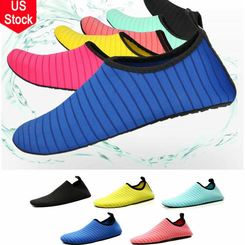 Men Women Skin Diving Shoes Water Aqua Socks Non-slip Surfing Swimming Exercise