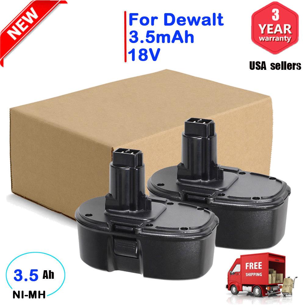 3.5AH For Dewalt 18V XRP Battery DC9096 DC9098 DC9099 DW9095 18-Volt 3500mAh