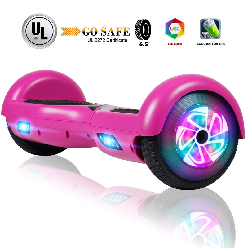 "Hoverboard for Kids 6.5"" Two-Wheel Self Balancing Scooter Bo"