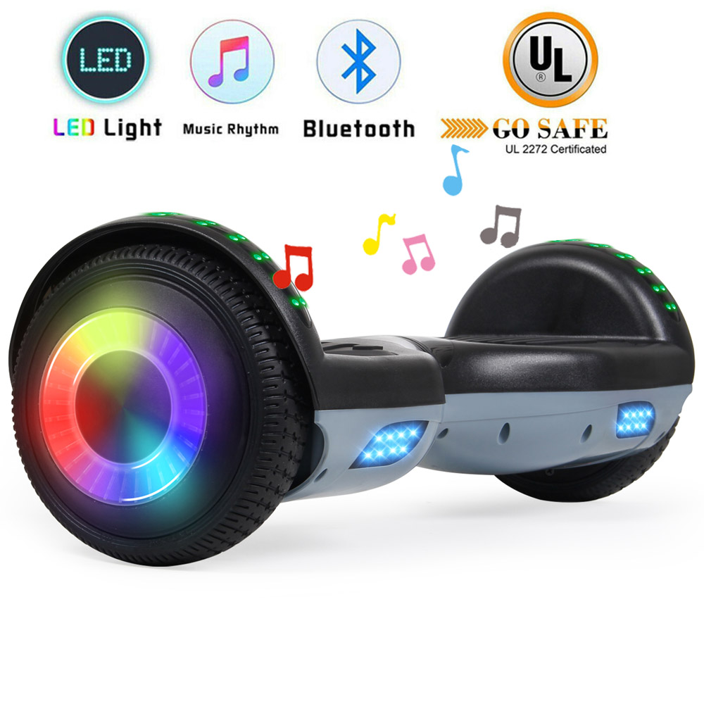 """6.5"""" Bluetooth Hoverboard Self Balancing Electric Scooter UL"""