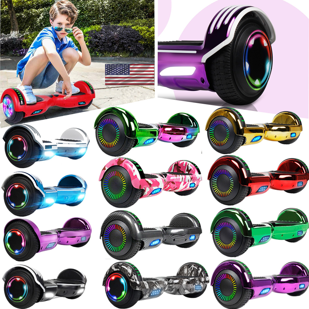 """6.5"""" Hoverboard Bluetooth 2 Wheel Electric Self Balance Scoo"""