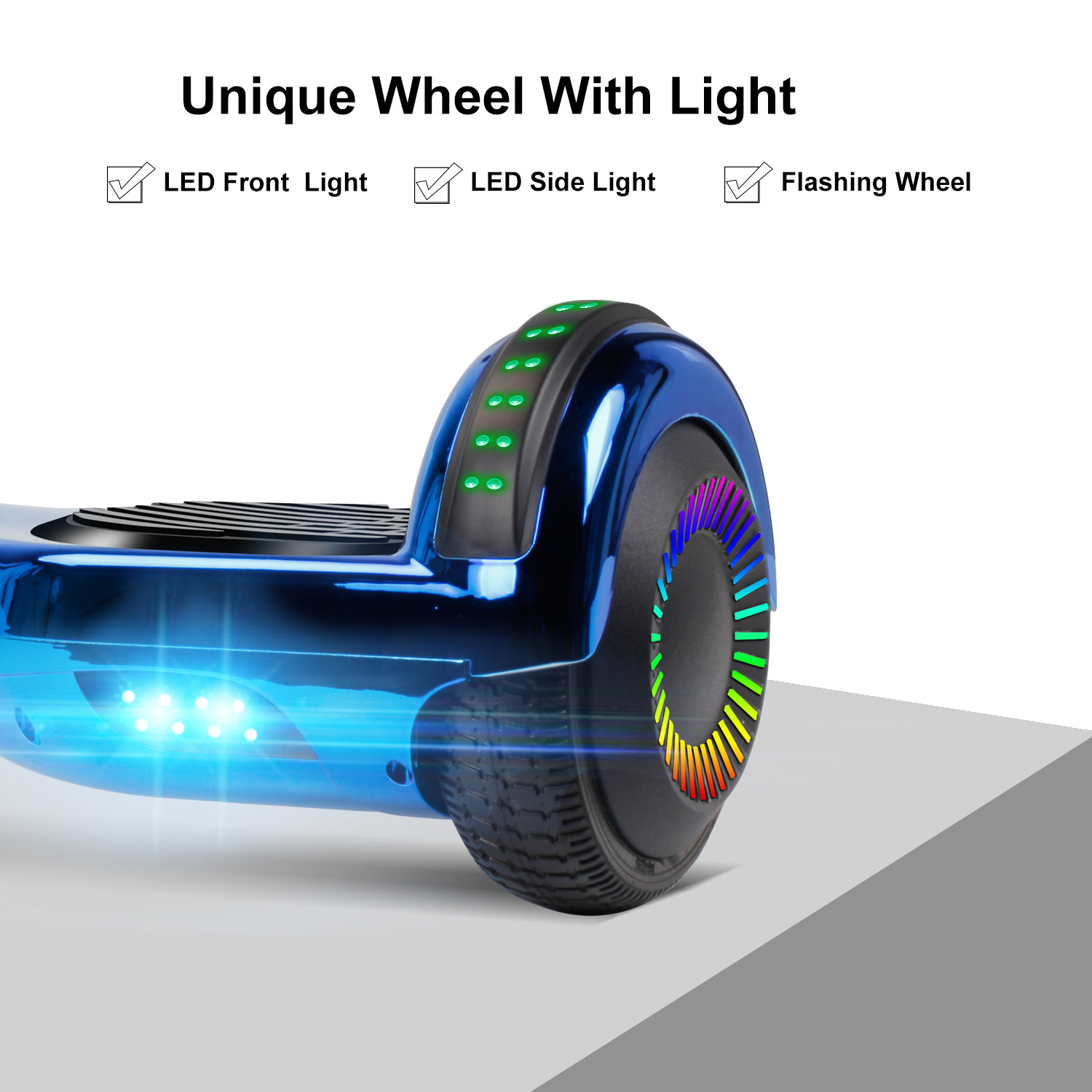 """6.5"""" Hoverboard Bluetooth Electric Balance Scooter with Bag UL2272 Certified 4"""