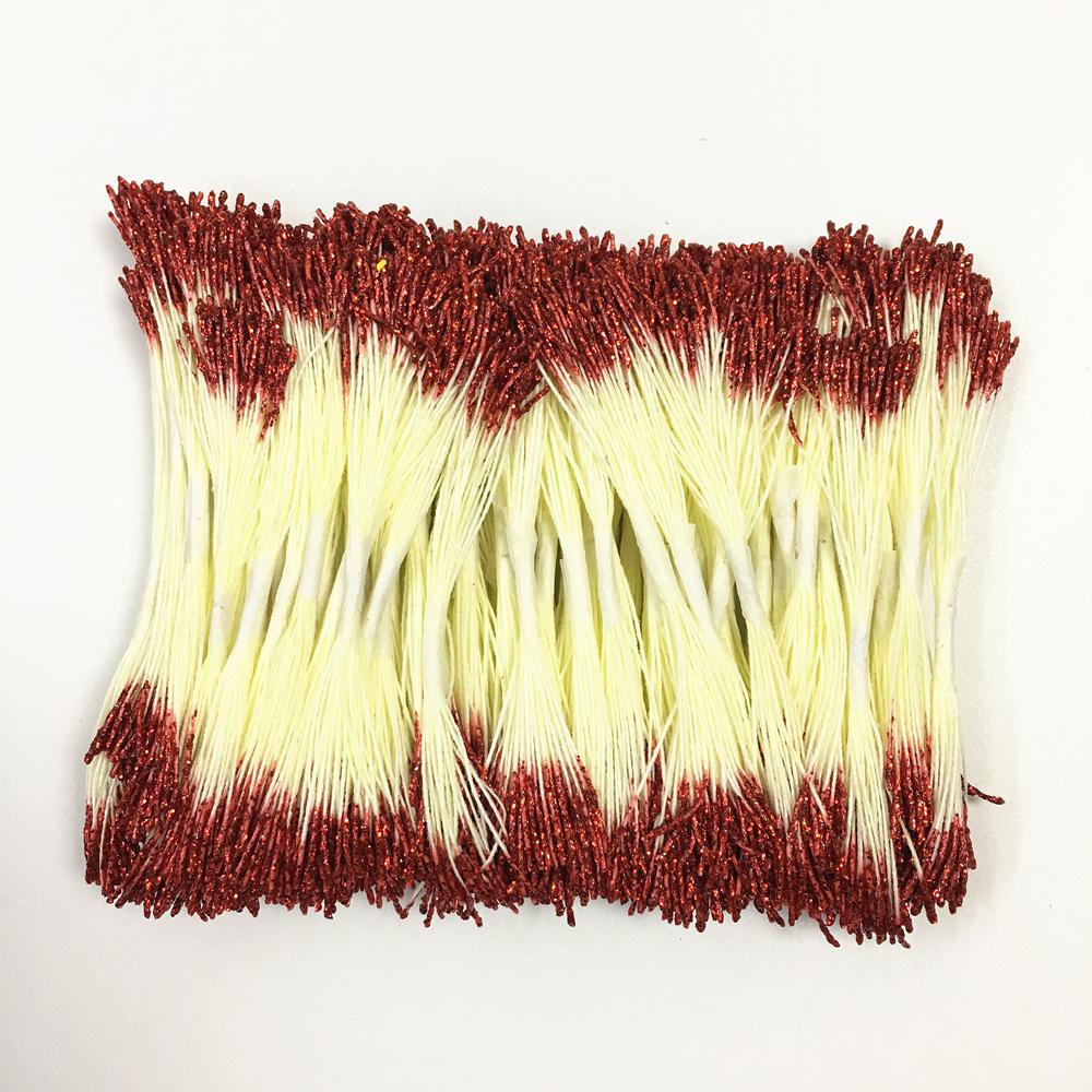 2500Pcs Artificial Flowers Stamens Stems Handmade Cherry Blossom Wedding Decor