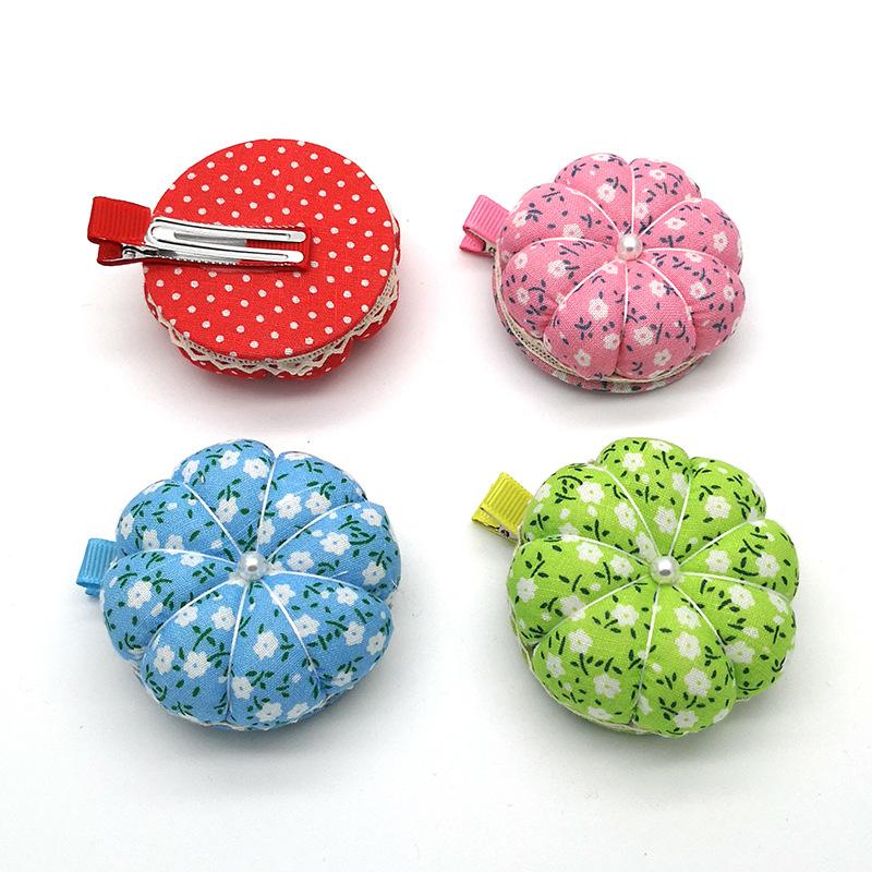DIY Needle Pin Cushion Wood Holder Sewing Kit Craft  Pincushions Home Supplies
