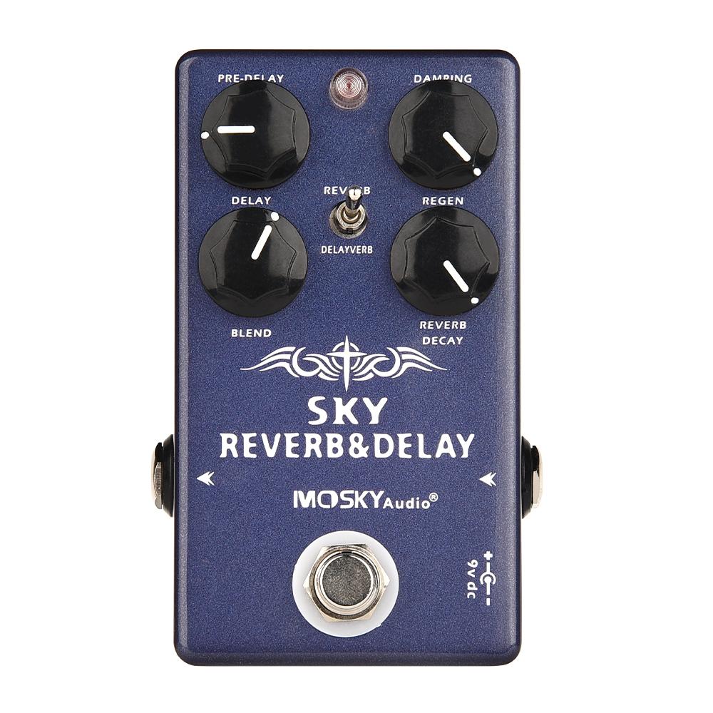 thumbnail 17 - MOSKY Guitar Multi Effect Pedal Reverb Delay Looper Overdrive Distortion Chorus