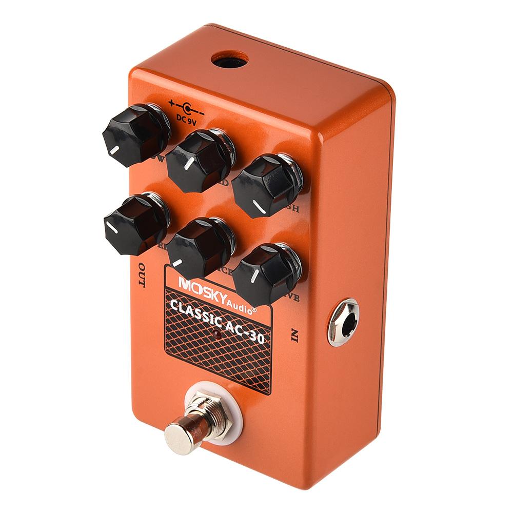 thumbnail 21 - MOSKY Guitar Multi Effect Pedal Reverb Delay Looper Overdrive Distortion Chorus