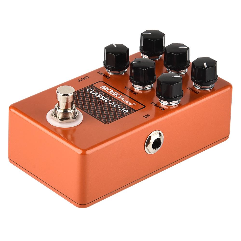 thumbnail 22 - MOSKY Guitar Multi Effect Pedal Reverb Delay Looper Overdrive Distortion Chorus